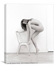 Nude - Surexposé - Bella Passionata, Canvas Print