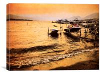 Osoyoos Lake Okanagan British Columbia Canada Summ, Canvas Print