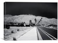 Tahquitz Canyon Way Palm Springs, Canvas Print