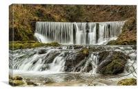 Stock Gryll Waterfall, Canvas Print