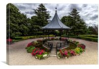 The Bandstand, Canvas Print