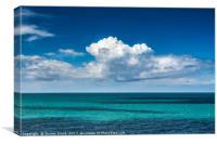 Cloud attack, Canvas Print