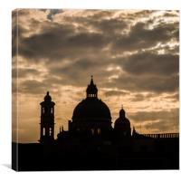 Xewkija Parish Church, Gozo, Canvas Print