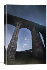 Orion from Ribblehead Viaduct, Canvas Print