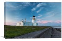 Chanonry Lighthouse Sunset, Canvas Print