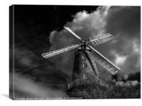 Whissendine Windmill, Canvas Print
