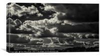 Moody Skies, Canvas Print