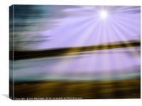 Skewed Horizon, Canvas Print