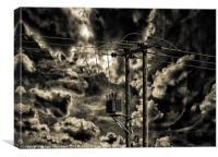 Power Source, Canvas Print