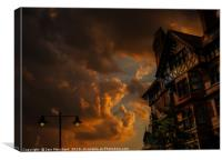 Twilight on King Street, Canvas Print