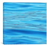 Sorrento water, Canvas Print