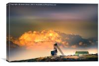 Old Copper Mine on Anglesey, Canvas Print