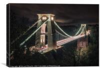 Clifton Suspension Bridge, Canvas Print