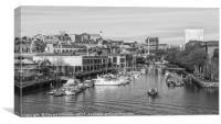 Bristol Harbour, Canvas Print