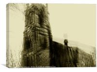 Abandonment, Canvas Print