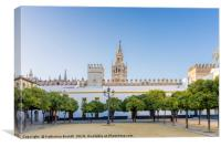 Seville Cathedral, Spain, Canvas Print