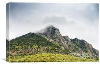 Grazalema Natural Park in Andalusia, Spain, Canvas Print