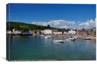 Stonehaven harbour , Canvas Print