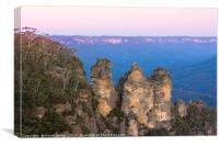 The Three Sisters, Canvas Print