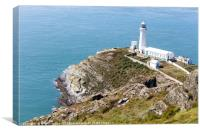 North stack lighthouse, Canvas Print