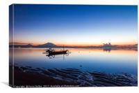 dawn, Sanur, Bali, Indonesia, Canvas Print