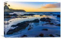 Dawn, Barlings Beach, Canvas Print