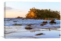 Sunrise, Barlings Beach, Canvas Print