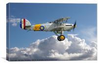 Hawker Nimrod I S1581/573 G-BWWK, Canvas Print