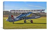 Hawker Fury I K5674 G-CBZP, Canvas Print