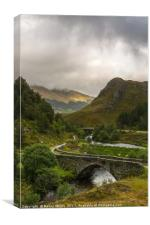 Only Scotland, Canvas Print