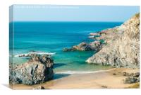 Rugged Cornish Coast, Canvas Print