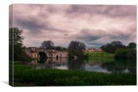 Blenheim Palace and gardens, Canvas Print