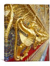 Temple's Gold, Canvas Print