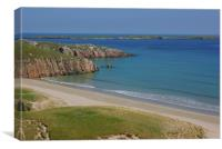 A Durness Beach, Canvas Print