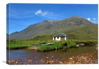 View of Liathach, Canvas Print