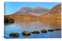 Arkle and Stepping Stones, Canvas Print