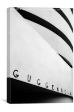 Guggenheim Museum, Canvas Print