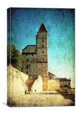 Tour d'Armagnac (Tower) in Auch, France , Canvas Print