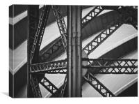 Old And New Architecture, Canvas Print