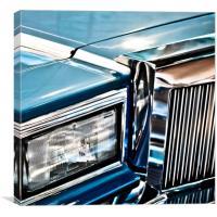 Luxury USA Car, Canvas Print