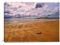 LLanddwyn beach, Canvas Print