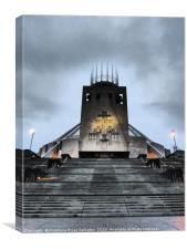 Liverpool Metropolitan Cathedral, Canvas Print
