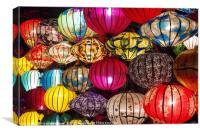 Luminous Lanterns of Hoi An, Canvas Print