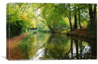 Autumn in Monmouthshire, Canvas Print
