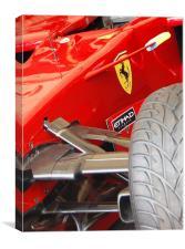 Ferrari, Canvas Print