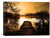 Secret Lake, Canvas Print