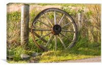 Agriculture, Cart wheel, abandoned