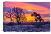 Sunrise, Winter, Snow, Dumfries