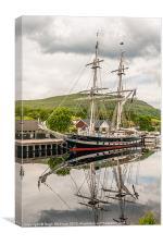 Ship, Sail training vessel, TS Royalist, Docked, N