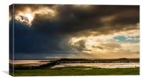 January storm over the Solway